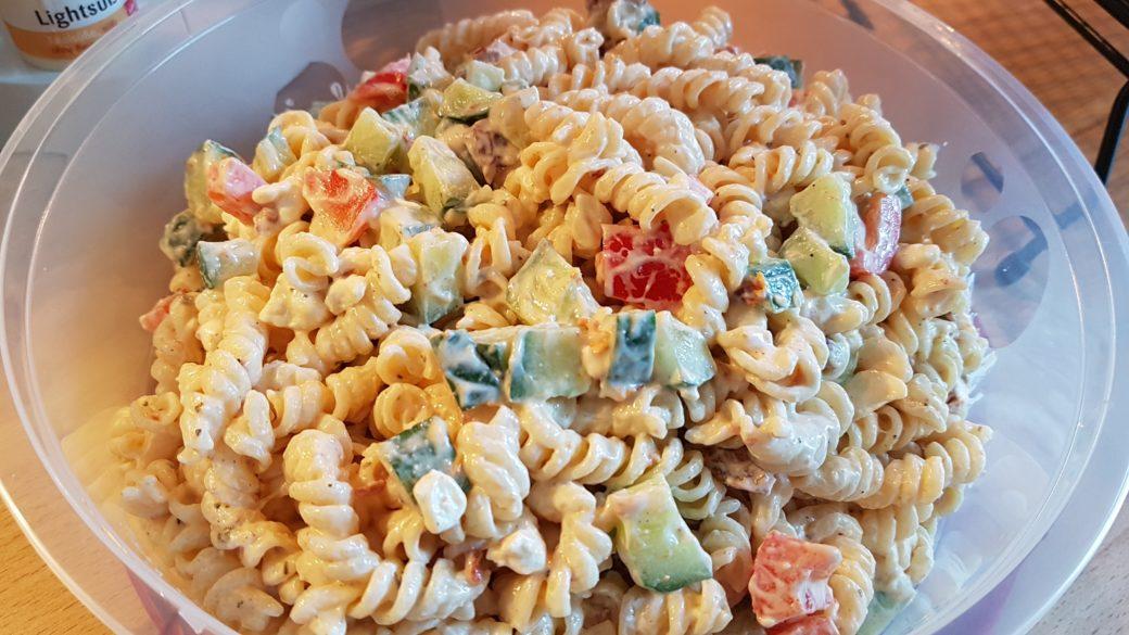 Nudelsalat Mit Getrockneten Tomaten Und Feta Von Christiane Bahr