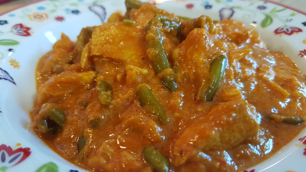 Bines Indisches Bohnen Chicken Curry Bines Thermi Welt
